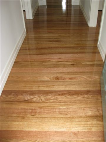 Chestnut gloss finish