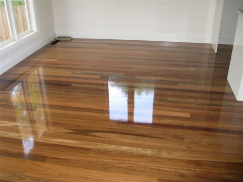 Spotted Gum With Gloss Finish Rivergum Floors