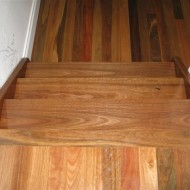Spotted Gum with gloss finish
